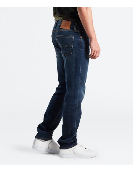 Pantalones Vaqueros Marca Levi S 511 Slim Fit Jeans Largos Para Hombre Moda