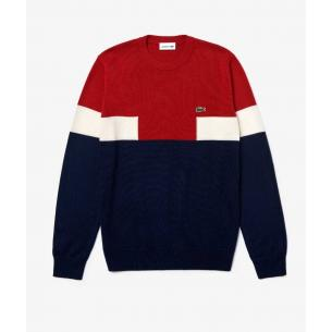 Jersey Lacoste colorblock