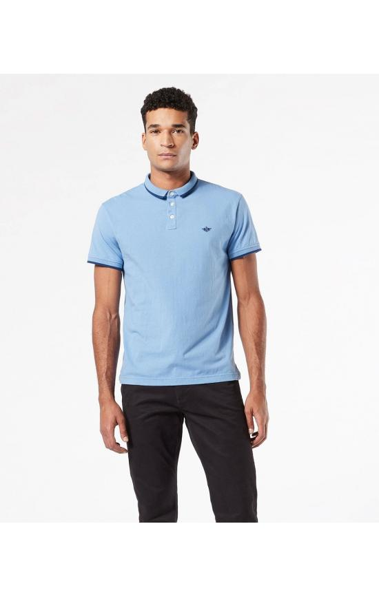 Polo marca Dockers® liso en color...
