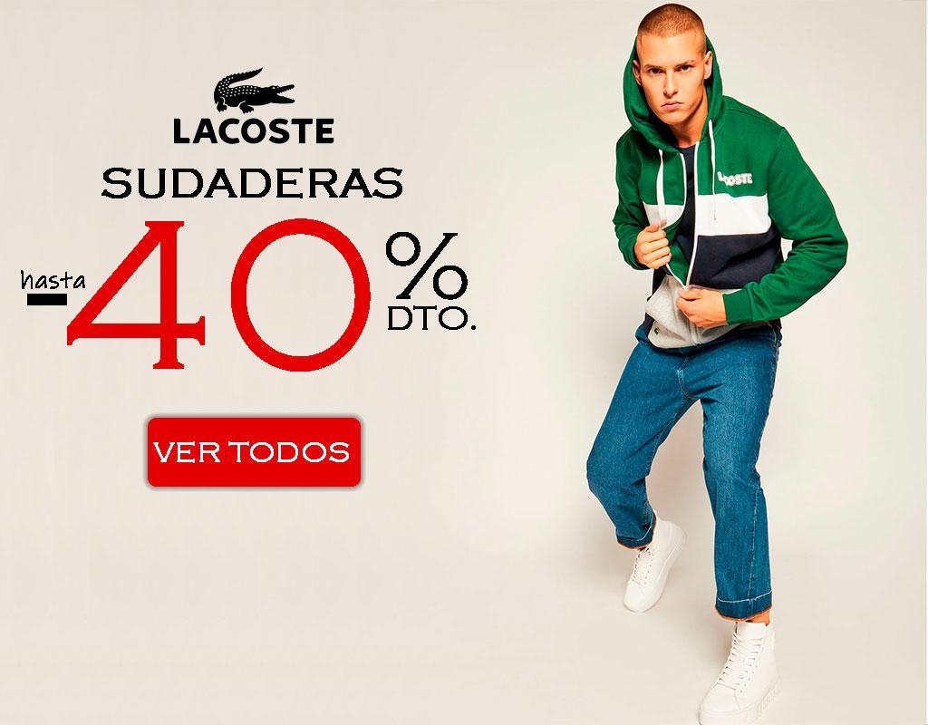 Comprar sudaderas Lacoste hombre online