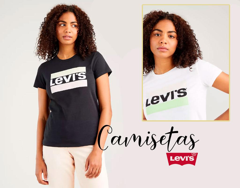 Camisetas Levis de mujer
